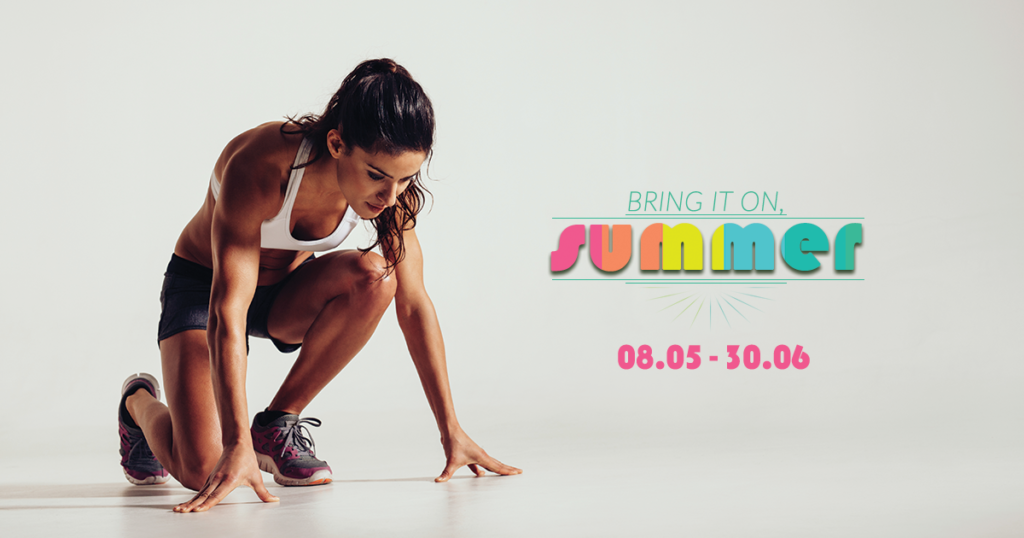 BRING IT ON, SUMMER! - Editie noua BODYUPGRADE 60 days challenge