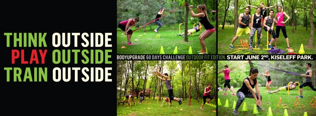 BODYUPGRADE Outdoor Fit Edition